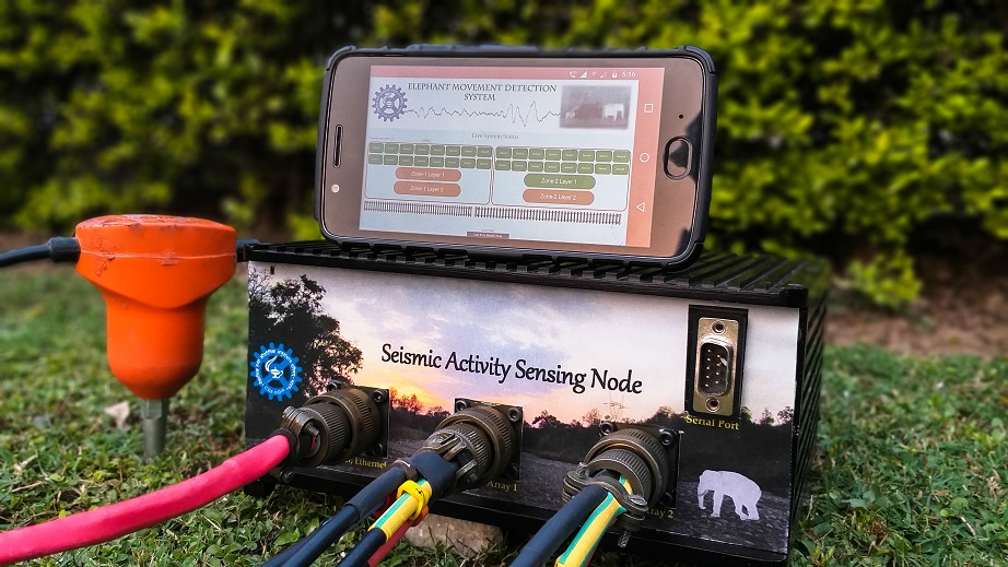 Seismic Activity Sensing Node